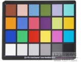 Xrite Original ColorChecker Card / 24 Color Cards