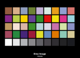 Professional DTV Color Rendition Test Chart Welcome OEM
